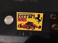 Ferrari 100th Grand Prix Pin