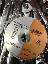 Case Tr270 Tr320 Tv380 Alpha Skid Steer Track Loader Service Repair Manual Cd