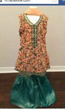 Pakistani kids girls gharara lehenga Kameez shalwar Eid party formal dress