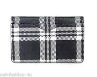 ALEXANDER McQUEEN CHECKERED BLACK AND WHITE CARD HOLDER WALLET BNWT PERFECT GIFT