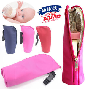 Insulation Bag Mummy Pouch Thermal Warmer Milk Bottle Tote Cover Hang Baby Cup