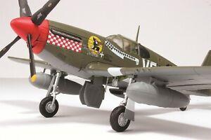 """Hobby Master 1:48 P-51B USAAF 4th FG 336th FS """"Shangri-La"""" Don Gentile HA8501"""