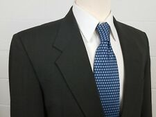 Pierre Balmain Mens 42R Gray Houndstooth 2 Button Wool Sport Coat Jacket Blazer