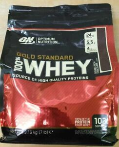 Optimum Nutrition Gold Standard Whey, Double Rich Chocolate, 3.16Kg