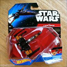 Disney STAR WARS Hot Wheels X-WING FIGHTER #7 diecast starship Mattel space POE