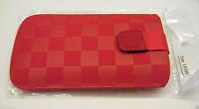 Couverture étui pour téléphone portable coque Rouge Samsung I9300 Galaxy S3 III