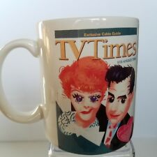 Lucille Ball Desi Arnaz Cup Mug Caricature Tv Times La Times She Loved Desi
