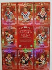 2017 NRL ELITE RUBY MOJO SET OF 9 CARDS 17/40 ROOSTERS