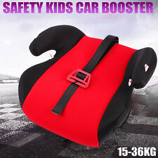 Car Booster Seat Chair Cushion Pad For Toddler Children Kids Sturdy 3-12 Years