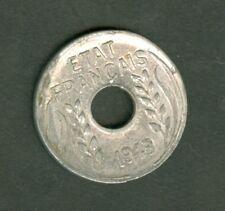 INDOCHINE 1 CENTIME 1943 A  ALU  0,5 gr  ETAT : SUP    lot 253