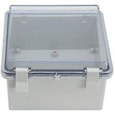 Raculety Junction Box Ip65 Dustproof Waterproof Abs Plastic Project Hinged Shell