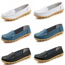 35-41 Womens Summer Comfort Slip On Casual Loafers Moccasins Mom Shoes Soft B