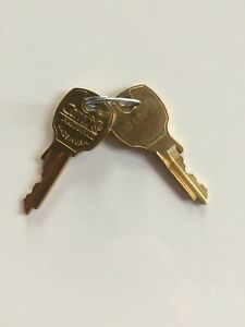 USPS L-1172C CompX - 2 Factory Cut Keys - code 1049PS