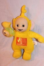 "NEW WITH TAGS TELETUBBIES  LAA LAA  PLUSH  14"" DOLL"