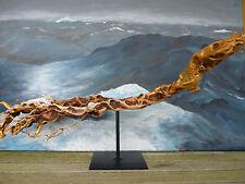 """GIFTIGE Schlangen Treibholz Skulptur """"See Cobra"""" von NEPTUN ARTS Sea Cobra Snake"""