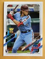 2021 Topps Baseball Series 1 ALEC BOHM Gold Cup Rookie Card #277 Phillies RC