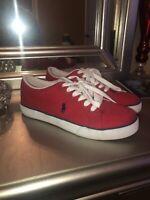 Polo Ralph Lauren - Men's Shoes - Red- Size (9)