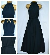 NEW NEXT EMMA WILLIS NAVY BLUE MAXI DRESS PARTY OCCASION SUMMER SIZE 8 - 20