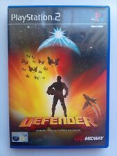 Defender For All Mankind Sony Playstation 2 Ps2 (2000) Action video Game VGC