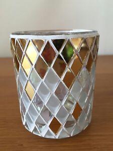yankee candle mosaic Tealight /votive holder ,new