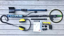 """Used Minelab Excalibur 800 Metal Detector w/ 10"""" Excal 2 Coil, Manual, Dive Rod"""