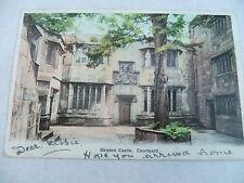 OLD POSTCARD SKIPTON CASTLE YORKSHIRE