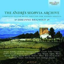 Ermanno Brignolo - Andres Segovia Archive: Complete Guitar Music [New CD]
