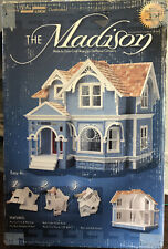 EUC Dura-Craft #MD740 The Madison dollhouse kit (incomplete see details)
