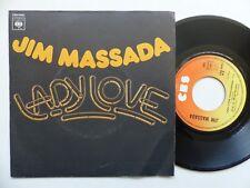 Jim Massada – Lady Love    CBS – 4990 france