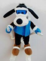 "Rare Genuine Original Disney 11"" Mickey Mouse's Friend SKIER GOOFY Soft Plush"
