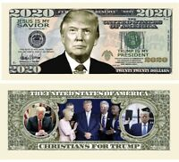 Pack of 50 Re-Election Gift The Best Gift Or Keepsake for Lovers of Our Great President Limited Edition Novelty Dollar Bill Donald Trump Serious Business 2020 Dollar Bill
