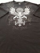 Del Sol Arizona BLACK  Crown Wings/Scrolls Color-Change Short Sleeve T-Shirt 2XL