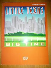 Piano Songbook: Little Texas … Big Time  < New Old Stock >