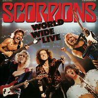 SCORPIONS World Wide Live BANNER HUGE 4X4 Ft Fabric Poster Tapestry Flag art