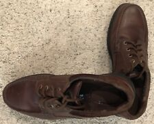 Steel Toe Shoes, Casual, Hush Puppies, 13M, K30046, Brown, Oil Resistant, VG