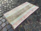 Carpet, Handmade rug, Turkish area rug, Vintage wool rug | 2,0 x 3,7 ft