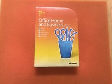 Microsoft Office Home and Business 2010 Full Retail Box 32/64 Bit Ver New SEALED