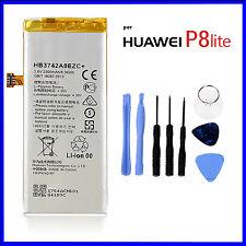 BATTERIA PER HUAWEI P8 LITE 2200mah HB3742A0EZC+ CAPACITA' ORIGINALE+CACCIAVITI