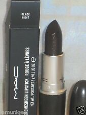 NIB LED MAC Dark Desires Collection, BLACK NIGHT lipstick, DISCONTINUED