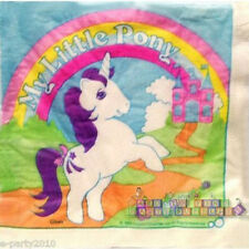 MY LITTLE PONY VINTAGE 1984 LUNCH NAPKINS (16) ~ Birthday Party Supplies Dinner