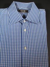 """MENS CLOTHING  LUI-B LONG SLEEVE DRESS SHIRT NECK SIZE 16 1/2"""" MADE IN ITALY"""