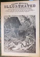 Illinois Tornado Mount Carmel IL 1877 New Jersey Cicadas Fort Lee NJ - Pope Pius