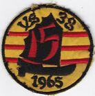 USN VS-38 1965 Vietnam Patch .#7