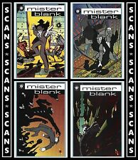 Mister Blank #0 1 2 & 3 | 4-Issue Comic Lot (1997) Slave Labor | Mr. (7.0 - 9.0)