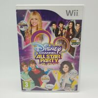 Disney Channel All Star Party Nintendo Wii 3+ Complete with Manual PAL Free P&P