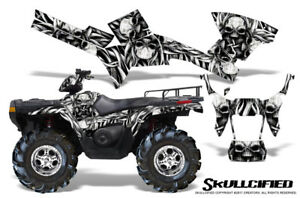 POLARIS SPORTSMAN 500 600 700 800 05-10 GRAPHICS KIT CREATORX SKULLCIFIED S
