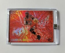 Michael Jordan KAPOW Legacy Ruby Red Refractor Chicago Bulls