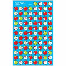 Tasty Apples superShapes Stickers, 800 ct Trend Enterprises Inc. T-46070