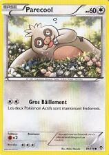 Parecool - XY3:Poings Furieux - 81/111 - Carte Pokemon Neuve Française