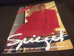 Vintage Spring 1989 Spiegel Catalog Clothing Fashion